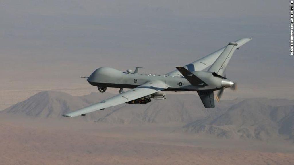 Drone Militer Ditembak Jatuh di Yaman, AS Salahkan Iran