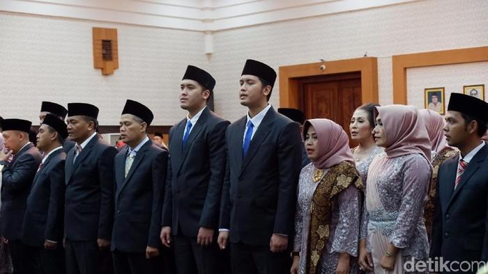 Pelantikan caleg terpilih DPRD Bayuwangi (21/8)/Foto: Ardian Fanani