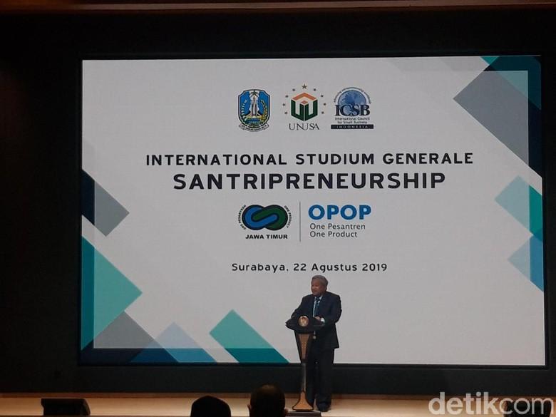 OPOP Training Center Diresmikan, Prof Nuh Siapkan Jaringannya