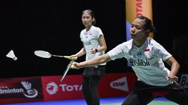 Della/Rizki gagal lolos ke babak perempat final.
