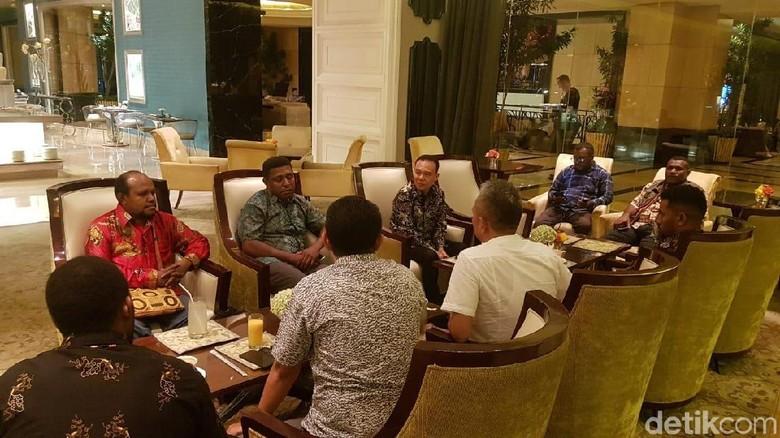 Waketum Gerindra Bertemu Pemuda Papua, Cari Solusi Permasalahan