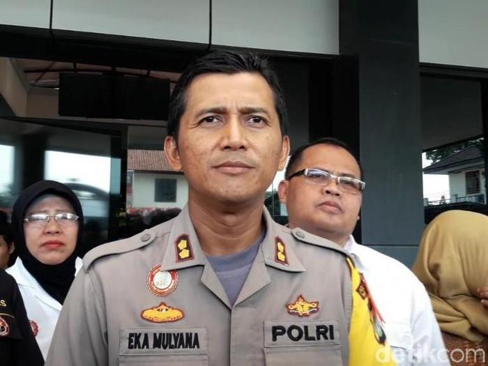 Wakapolres Metro Bekasi Kota AKBP Eka Mulyana. (Isal/detikcom)