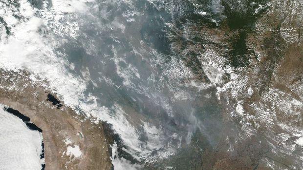 Gawat, Kebakaran Hutan Amazon Makin Liar