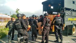 Bantu Ciptakan Situasi Kondusif, 2 SSK Brimob Tiba di Timika