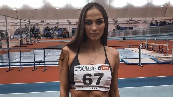 Margarita Pavlova, atlet cantik Rusia yang meninggal saat latihan (Foto: Instagram)
