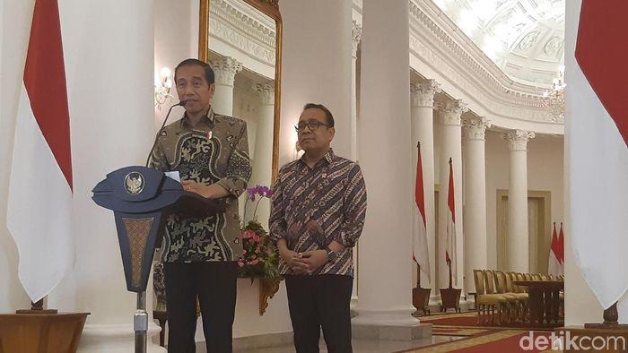 Presiden Joko Widodo (Jokowi)/Foto: Noval Dhwinuari Antony/detikcom