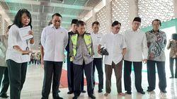 JK dan Menag Lukman Tinjau Renovasi Masjid Istiqlal
