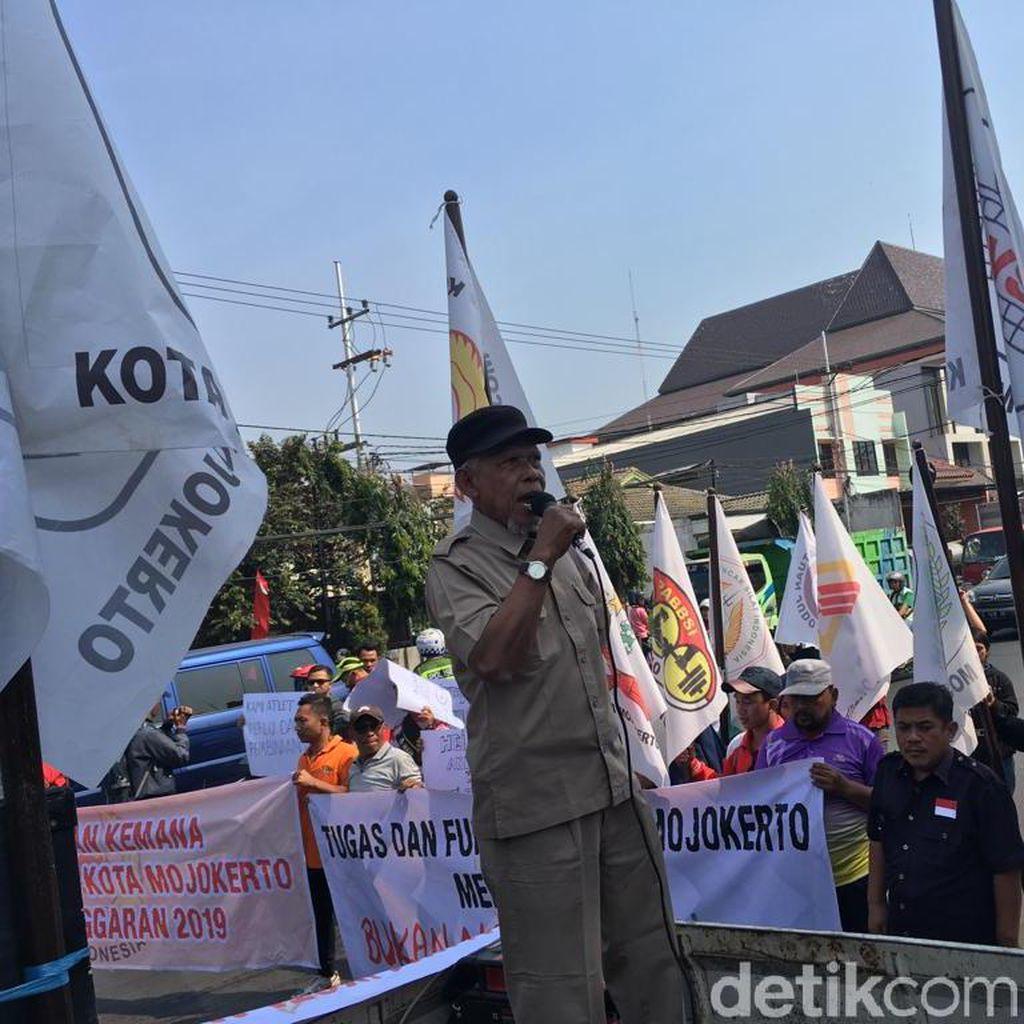 Pengurus KONI dan Atlet Kota Mojokerto Tuntut Dana Pembinaan