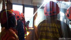 Musala di Bandung Terbakar Gegara Korsleting Listrik