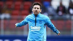 Mulai Pulih Cedera, Messi Sudah Latihan Lagi