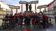 Intip Gaya Hidup Sehat Karyawan Telkomsel dengan Bersepeda