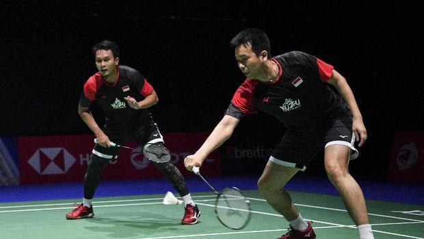 Mohammad Ahsan/Hendra Setiawan memasang target lolos ke OIimpiade 2020.