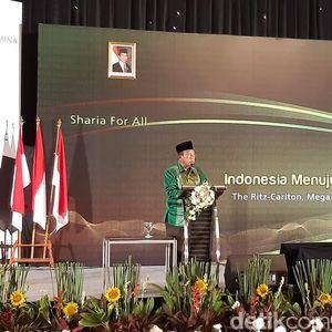 Darmin Bicara Pesantren Bisa Jadi Pusat Ekonomi Syariah