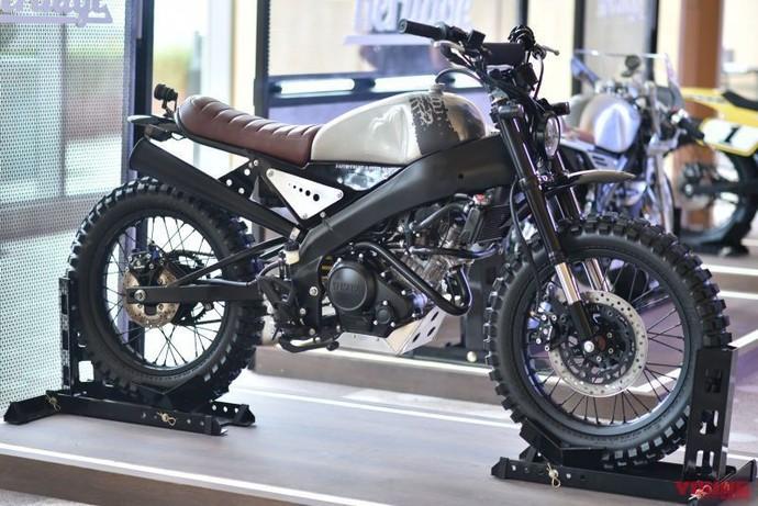 Modif Keren ala Yamaha XSR155