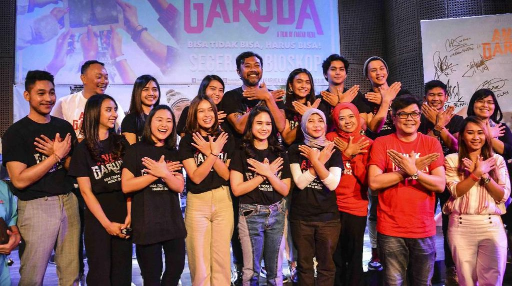 Anak Garuda Angkat Perjuangan Murid Sekolah Selamat Pagi Indonesia