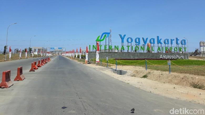 Ilustrasi Yogyakarta International Airport (Foto: Pradito Rida Pertana/detikcom)