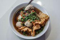 Makanan khas Malang berkuah hangat.