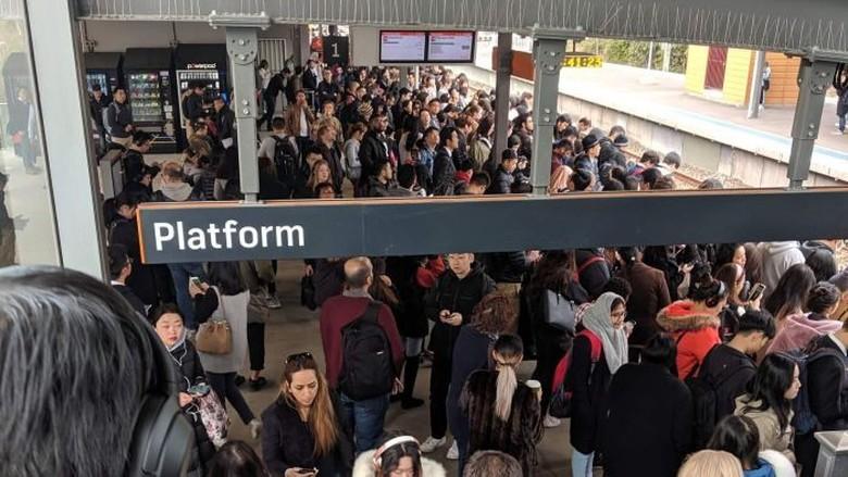 Ini Tak Seharusnya Terjadi di Negara Maju: Jaringan Kereta Sydney Terganggu