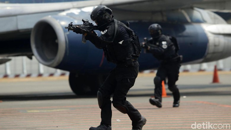 Aksi Paskhas Lumpuhkan Pembajak Pesawat di Albara 2019