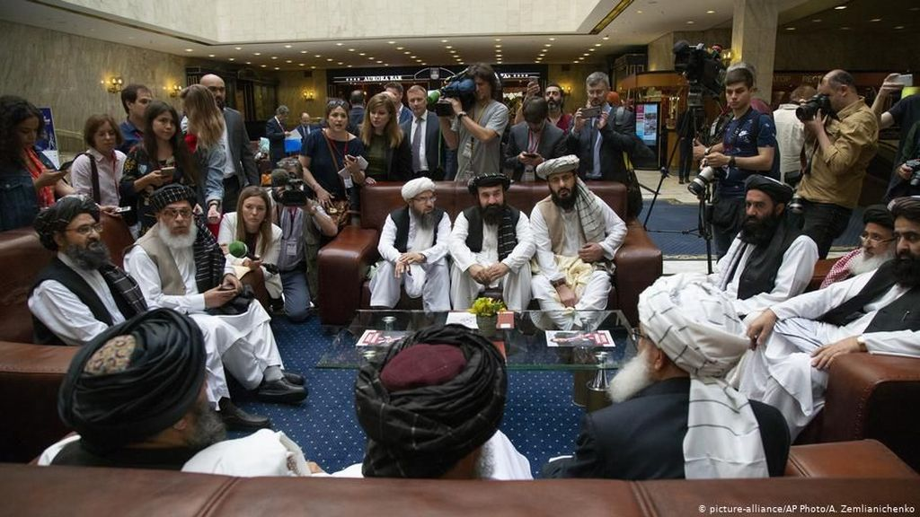 AS dan Taliban Berunding Lagi di Qatar Bahas Masa Depan Afghanistan