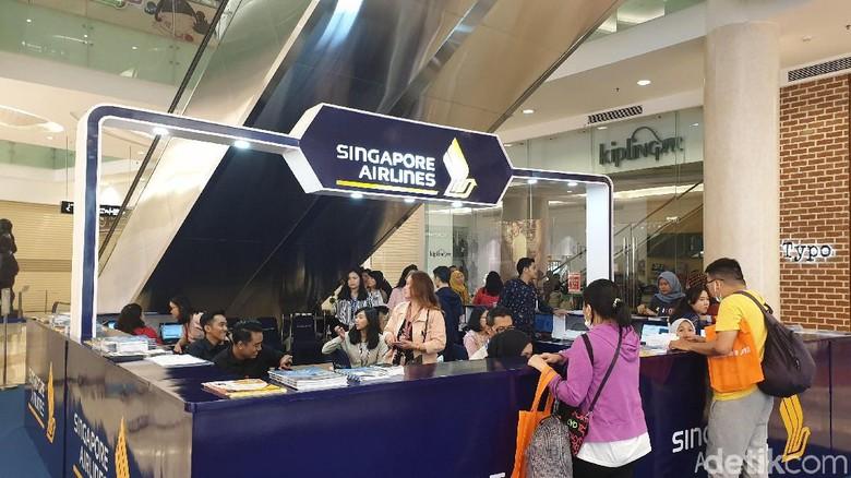 SQ Travel Fair 2019 (Masaul/detikcom)