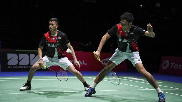 Marcus/Kevin Jumpa Ahsan/Hendra di Final China Open 2019
