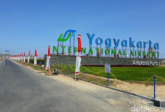 Begini penampakan terkini Yogyakarta International Airport (YIA) atau dikenal juga dengan Bandara Kulon Progo, Kecamatan Temon, Kabupaten Kulon Progo, Jumat (23/8/2019).
