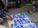 Tangkuban Perahu Waspada, Relawan-BPBD Pasang Penunjuk Jalur Evakuasi