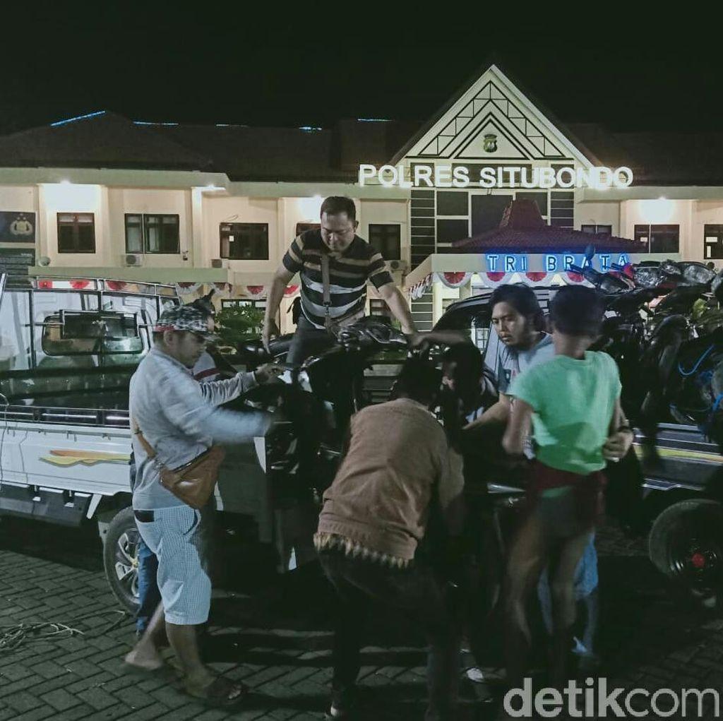 Komplotan Curanmor Asal Bondowoso Dibongkar, Polisi Amankan 9 Motor