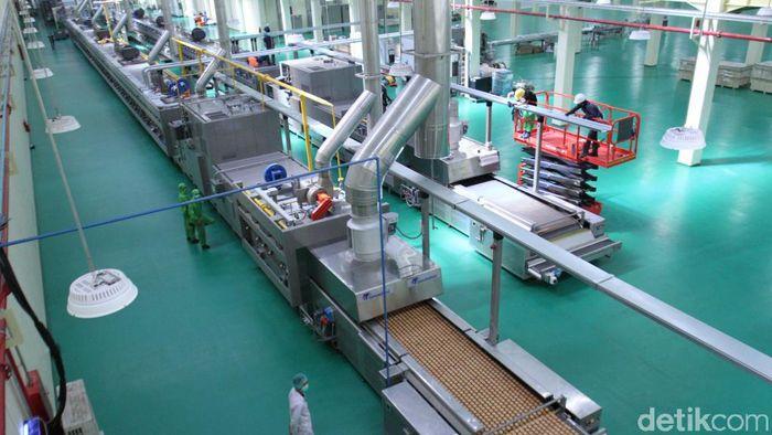 Pabrik cokelat patungan Swiss-RI di Sumedang/Foto: Wisma Putra