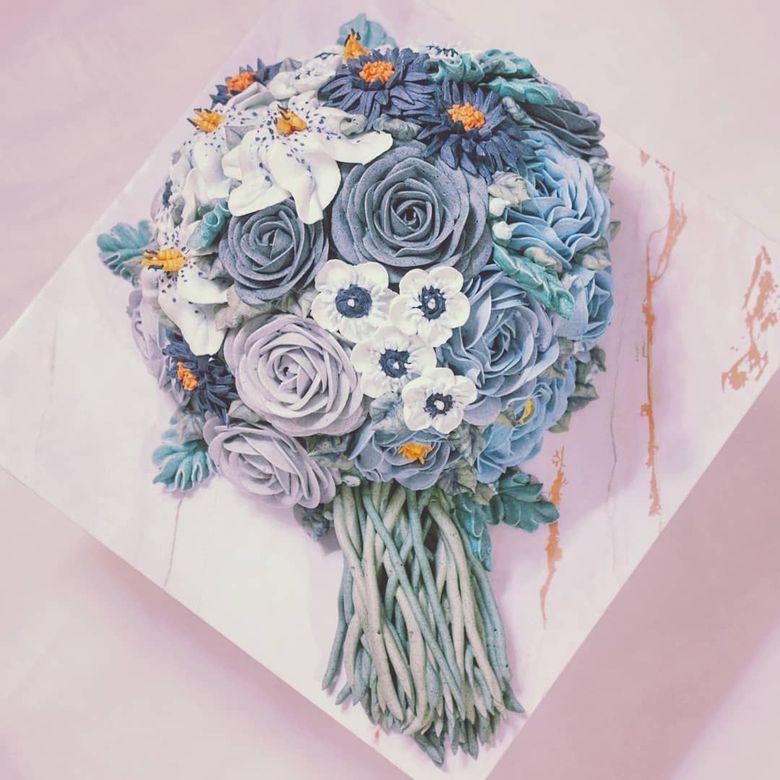 Super Cantik 10 Cake Bertema Buket Bunga Ini Bisa Jadi Pilihan Kue Ulang Tahun Foto 4
