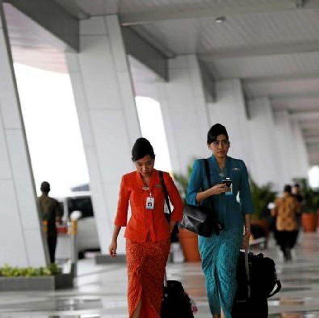 Efisiensi Garuda Indonesia, Fasilitas Untuk Awak Kabin ke Australia Dikurangi