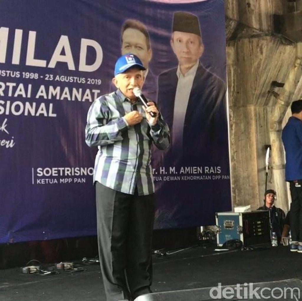 Amien Rais ke Jokowi: Tunda Pemindahan Ibu Kota, Dahulukan Masalah Papua