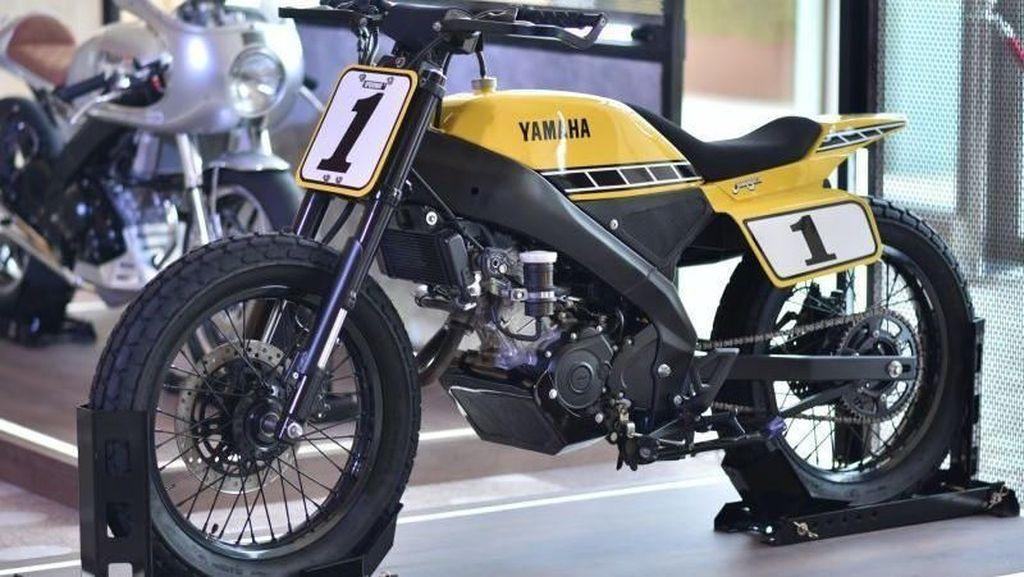 Gantengnya Yamaha XSR155 Versi Modifnya