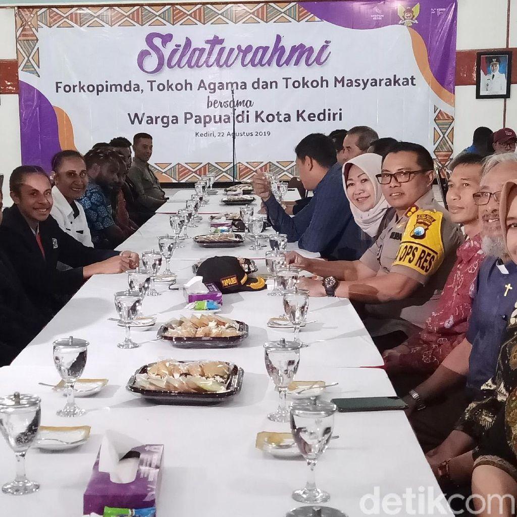 Ini Cara TNI-Polri dan Pemkab Ajak Warga Papua di Kediri Jaga NKRI