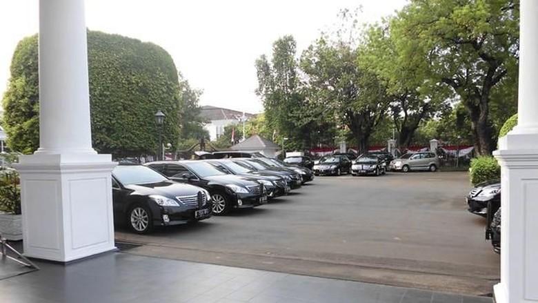 Mobil Menteri. Foto: Dok. Setneg