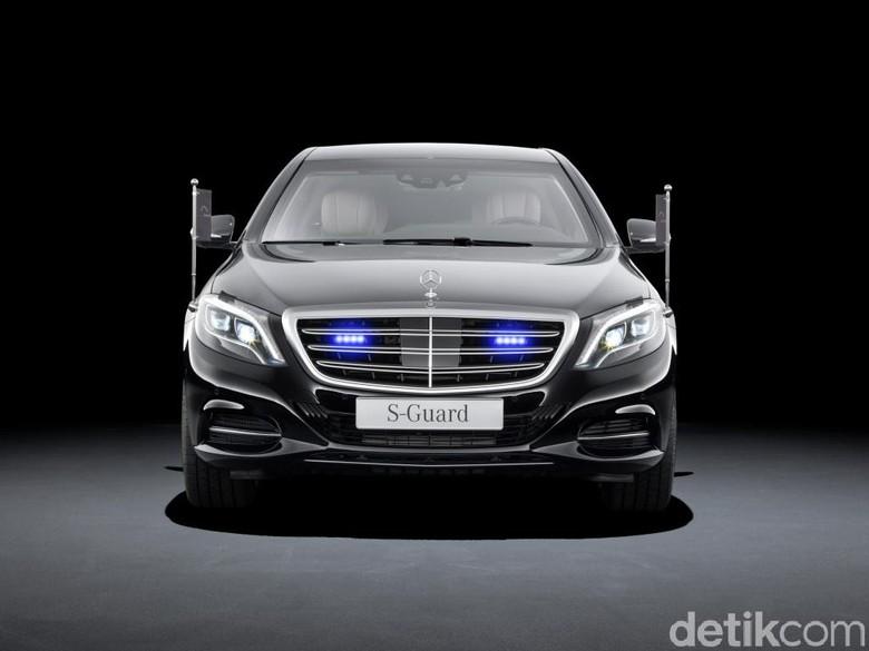 Mercedes-Benz S-Class, S 600 Guard. Foto: Daimler