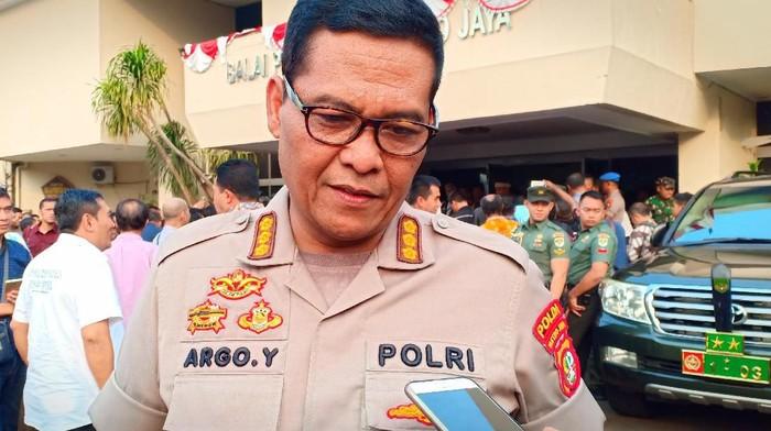 Kabid Humas Polda Metro Jaya Kombes Argo Yuwono (Wildan/detikcom))