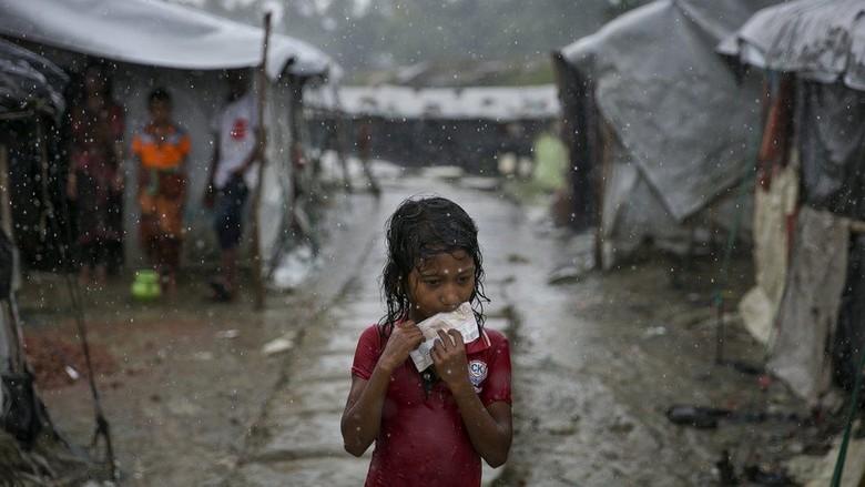 15 Bus dan Truk Disediakan, Pengungsi Rohingya Tak Mau Kembali ke Myanmar