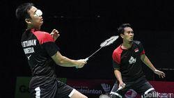 Jadwal Semifinal Kejuaraan Dunia Bulutangkis: Duel Fajar/Rian Vs Hendra/Ahsan