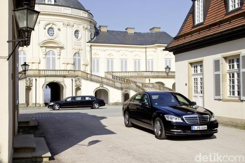 Mercedes-Benz S 600 Guard. Foto: Daimler