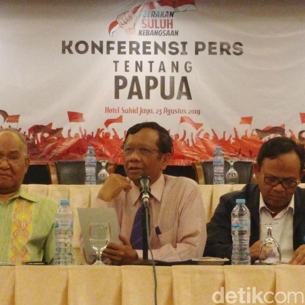 Mahfud Md-Romo Magnis Dukung Papua Damai: Tindak Tegas Pelaku Rasisme