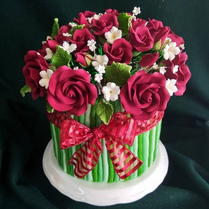 Super Cantik 10 Cake Bertema Buket Bunga Ini Bisa Jadi Pilihan Kue Ulang Tahun