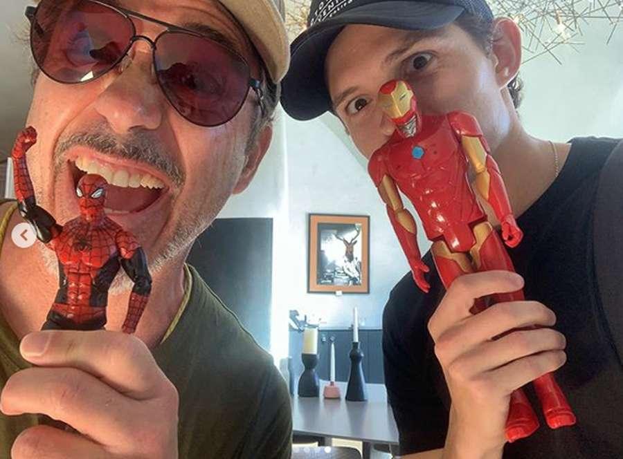 Spider-Man Cabut, Tom Holland Reuni Lagi dengan Robert Downey Jr