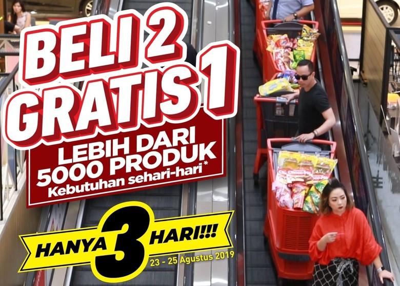 B2G1 Transmart Carrefour Sebabkan Fenomena Belanja di Tanggal Tua