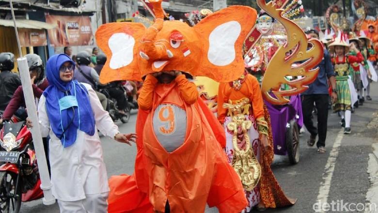 Wow! Ada Festival Gajah di Cimahi