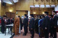 DPRD Kota Surabaya Lantik 50 Anggota Baru Periode 2019-2024