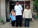 Armen Siswa SMA di Riau Tinggi 2,06 Meter Dilirik Pemda Jadi Olahragawan
