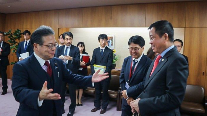 Menteri ESDM Ignasius Jonan dan Menteri Jepang, Hiroshige Seko/Foto: Dok. Kementerian ESDM