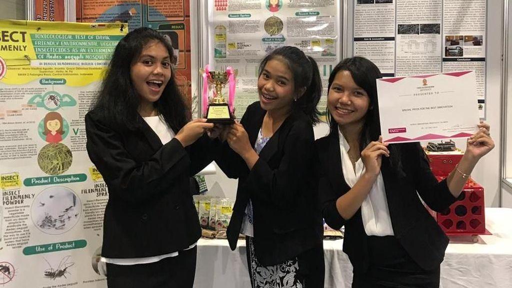 Di Balik Viral Akar Bajakah, Siswa-siswa Ini Juga Ciptakan Herba Anti Nyamuk